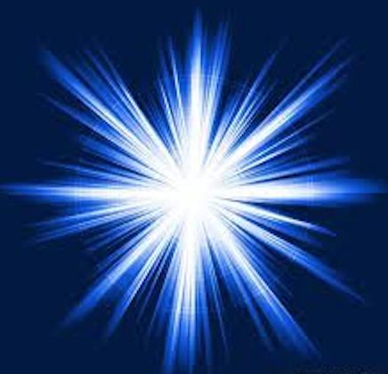 La luce blu